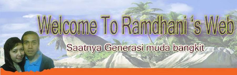 Welcome To Ramdhani's Web