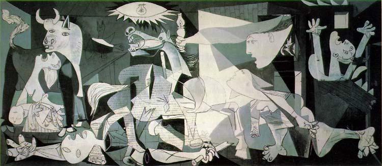 pinturas de picasso. cuadros del pintor Picasso