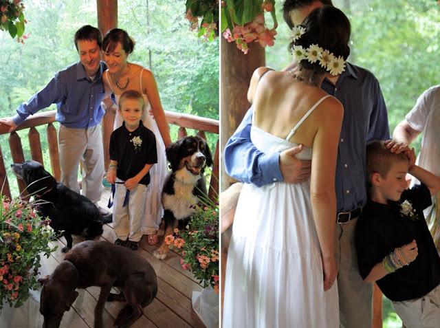 wedding dress handcuffs