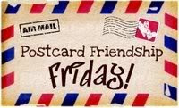 Postcard Friendship Firday