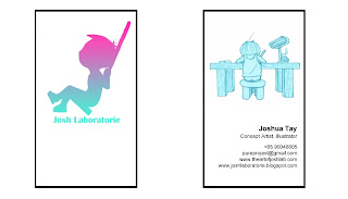 Josh Laboratorie Namecard Design v.1