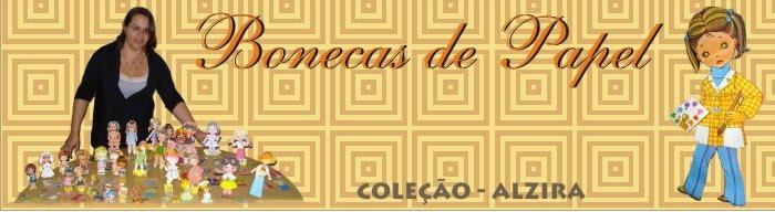 Bonecas de Papel - Coleção da Alzira