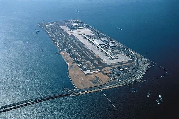 Aeroporto Osaka Renzo Piano : Arame farpado aeroporto internacional de kansai