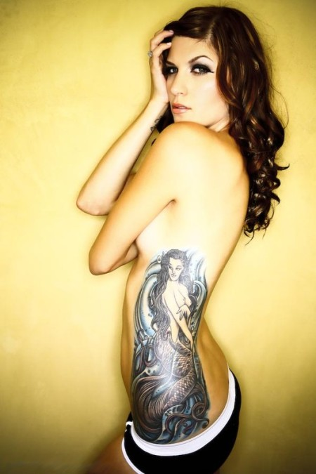 side tattoos