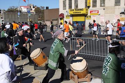 Ambiance du marathon de new york 2010