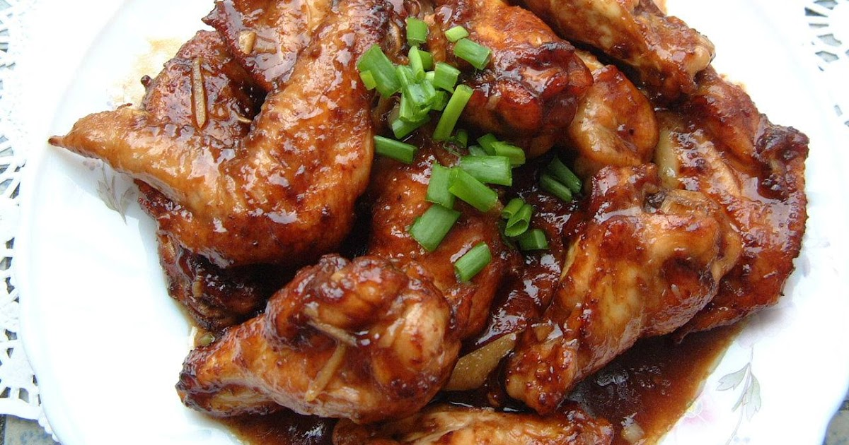 how to make oyster sauce chicken wings