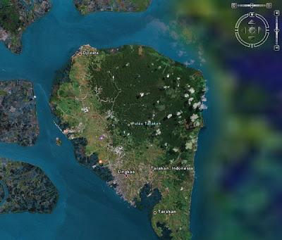 Peta Tarakan - Kaltim Borneo by Ardiz