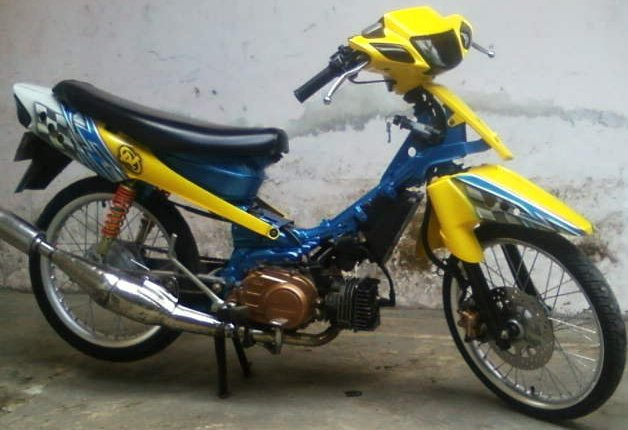 Picture of Modifikasi Yamaha Fizr