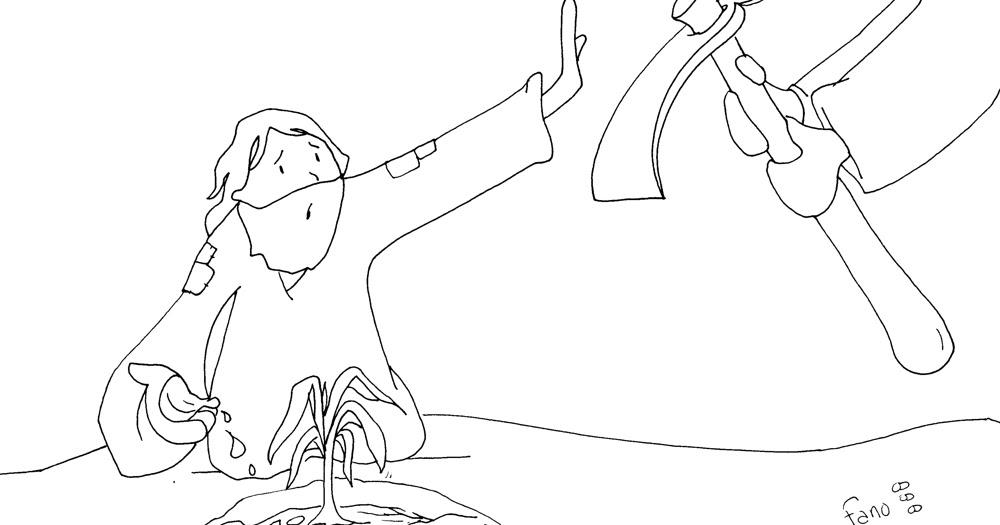 Educar con Jesús: Parábola de la higuera Lc 13,6 9 Colorea con Fano