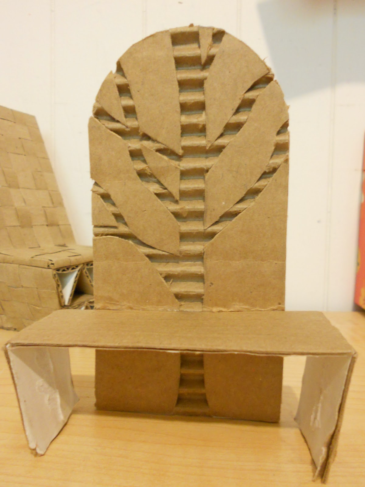 I Love To Construct And The First Project For My INTD25 Class Was Create Build A Chair Out Of Cardboard At Worried But Once We Started