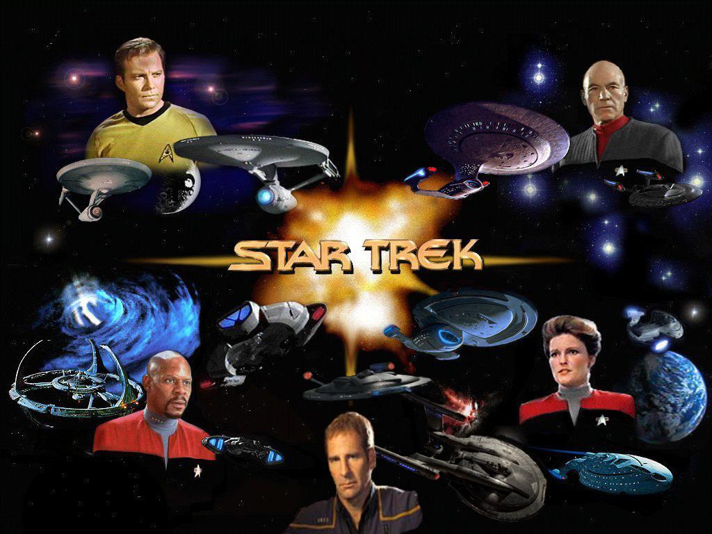¿Qué serie de space opera te gusta más? Star-trek-capitanes+entreprises