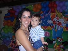 mila e Bruninho - o mais novo integrante da Familia Rehem