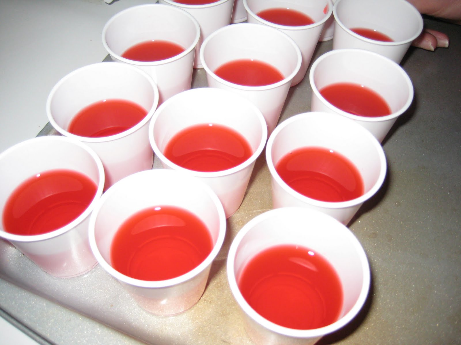 Eating With A: A Toast to the New Year with Jello Shots!