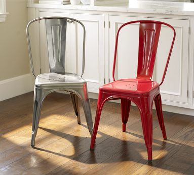 thinking maybe these (the plain metal) from Pottery Barn: