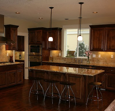 gallery for gt kitchen backsplash dark cabinets