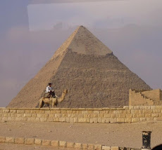 piramide en Giza, Egipto