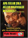 Sokong lah Anwar untuk menjahanmkan Islam demi kuasa
