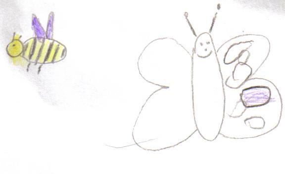 notre exercice du papillon a l'air de plaire