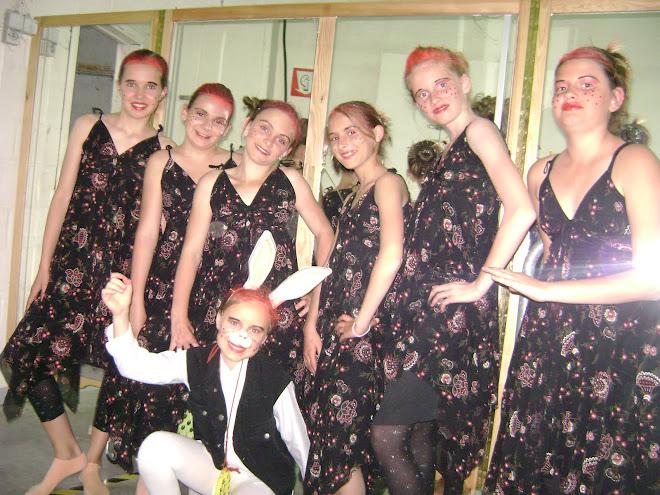 le groupe de danse ado