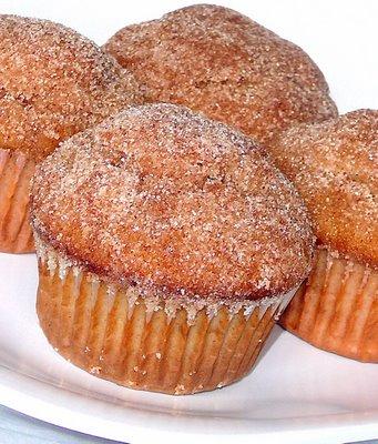 ... have a cocktail...: Take A Bite Of: Cinnamon Sugar Doughnut Muffins