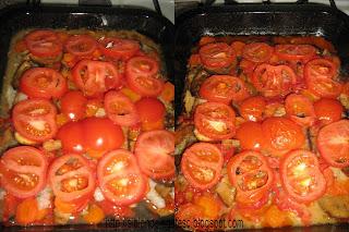 peste cu legume la cuptor