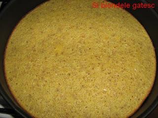 blat tort cu nuci