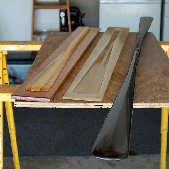 Homemade Carbon Fiber : Diy carbon fiber kayak greenland paddle