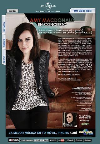 Amy Macdonald en concierto