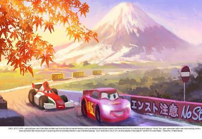 Cars 2 Japón