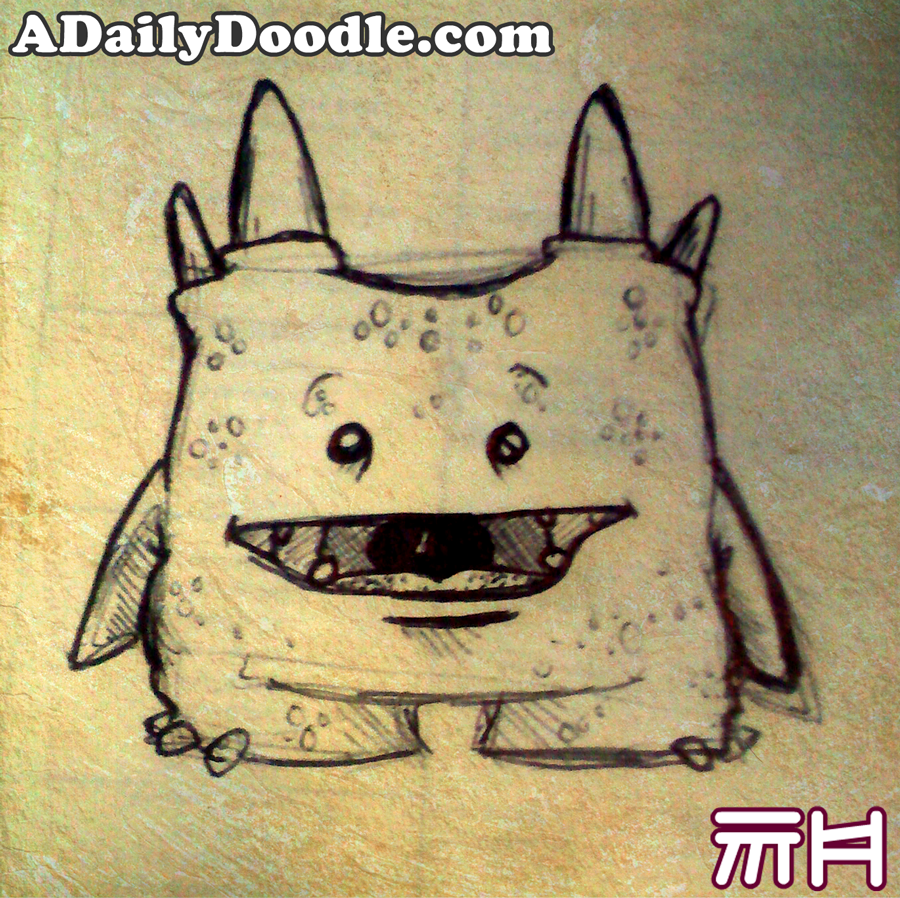 Cute Monster Doodles Another lil monster doodle