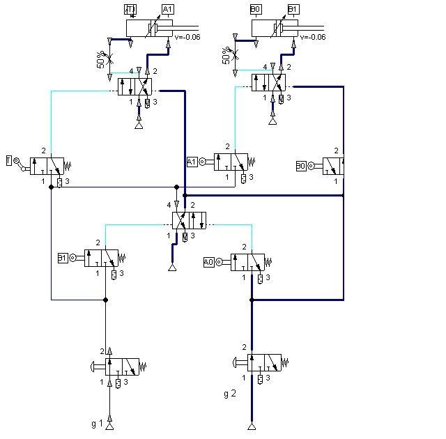 Electromecanica circuitos en cascada for Motor para cascada