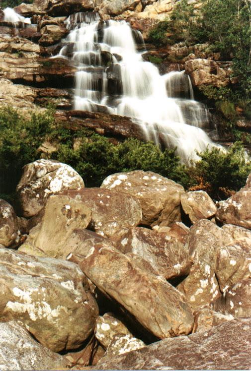 Cachoeira do moinho, segunda queda...