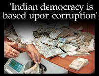 Corruption,corrupted,corruption free India,