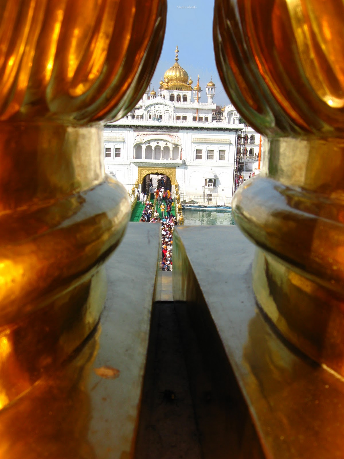 Amritsar Golden Temple Top view