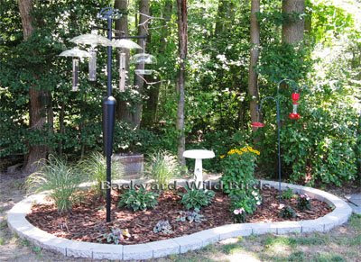 Japanese garden design backyard landscaping ideas design - Bird feeder garden designs ...