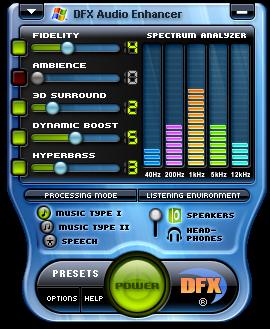 DFX for Winamp 3 v6.3 serial key or number