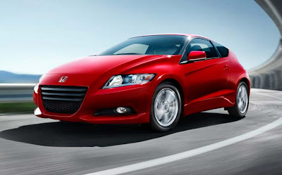2011 Honda CR-Z red