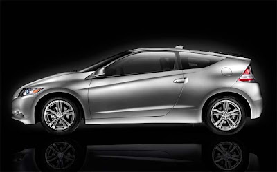 2011 Honda CR-Z silver side view