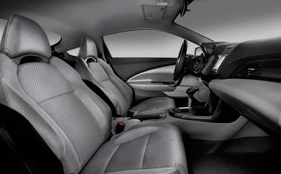 2011 Honda CR-Z sport seat