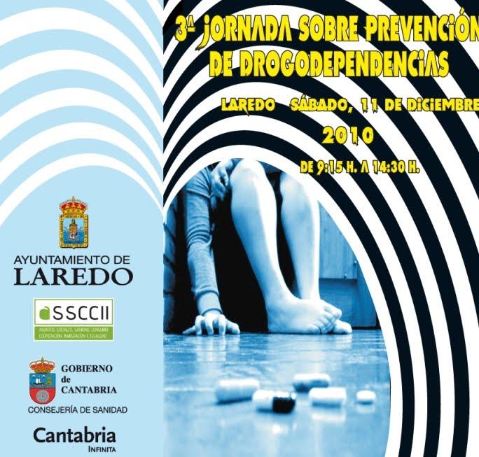 DIA 11/12/2010 - III JORNADA PREVENCIÓN DE DROGODEPENDENCIAS DEL AYUNTAMIENTO DE LAREDO