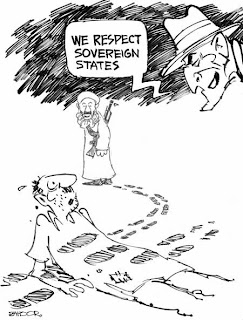 Pakistan newspaper cartoons: Cartoon 25th September 2008