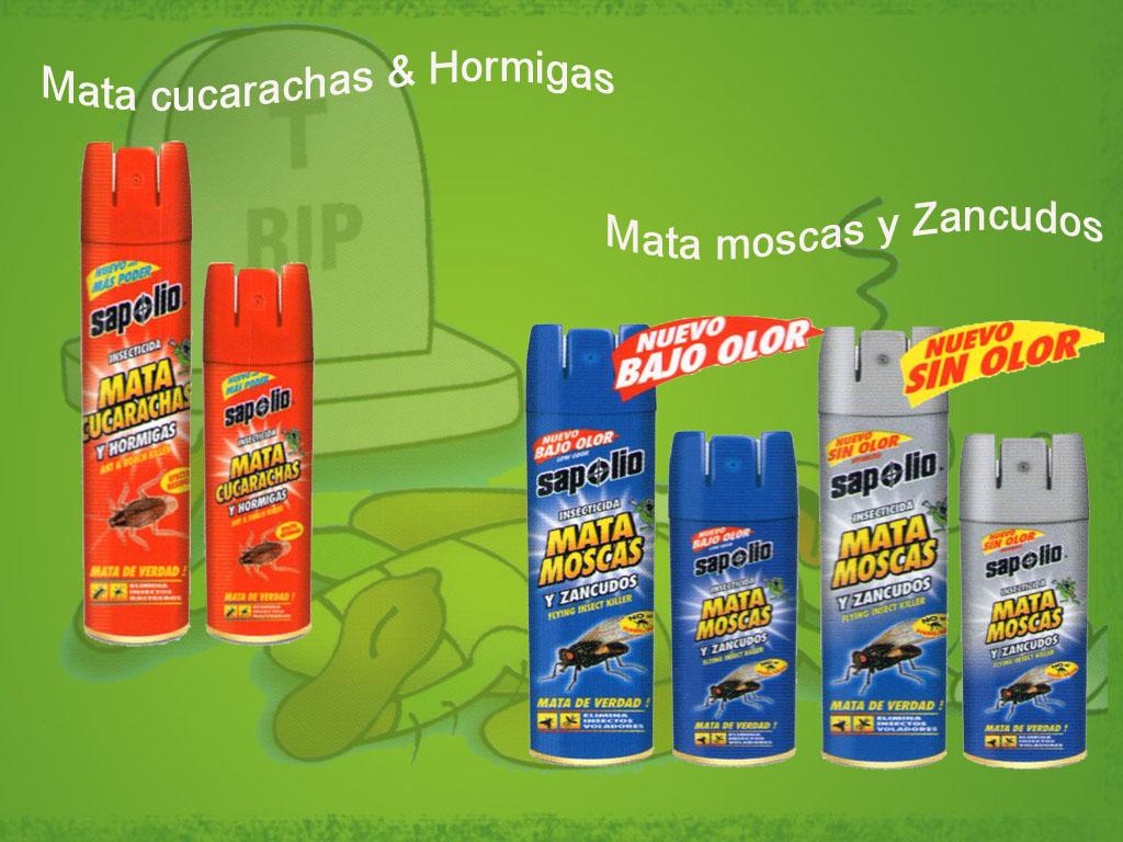 mata cucarachas hormigas mata moscas zancudos