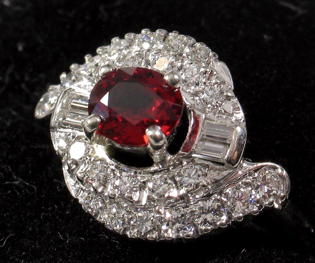 ruby gemstone rings real