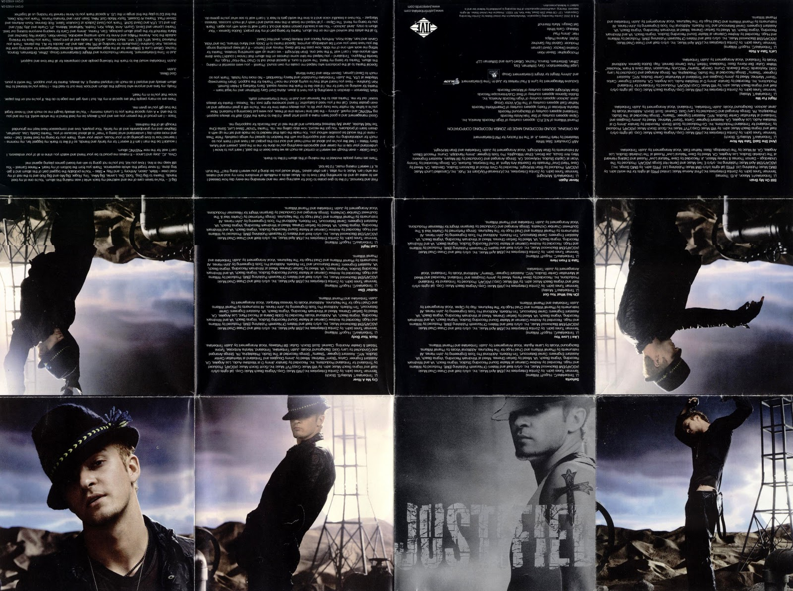 CD Booklets: Justin Timberlake - Justified