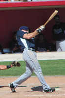 Chris Richard drove home two runs by going 2 for 5 with a double and a walk in Thursday's game.