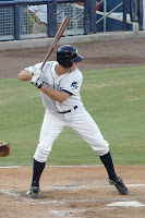 Stone Crabs's Henry Wrigley was the Rays Minor League Hitter of the Month for April 2010.