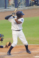 Tim Beckham was the only Stone Crabs to record multiple hits in Monday's game.