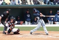 Justin Ruggiano went deep in the fifth inning of Saturday's game.  Photo by Jim Donten.