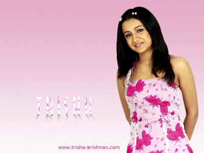 Trisha Kkrishnan Wallpapers Posters South Indian Actress