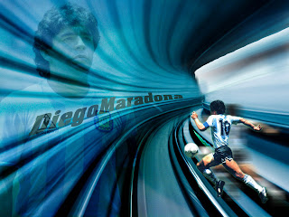 Wallpaper Diego Maradona